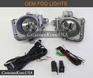 2011 2012 Toyota Prius OEM Fog Lights Bumper Lamps Kit Replacement