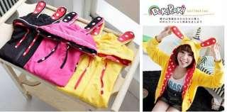 Japan new style super cute Rabbit dots jacket(3color)