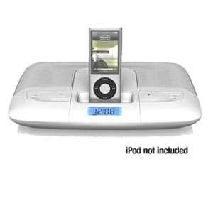 Memorex Mi2290 WHT 1779 Travel Speaker System for iPod   White at