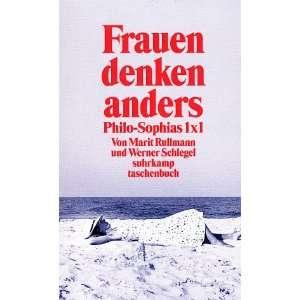 Frauen denken anders: .de: Marit Rullmann, Werner Schlegel