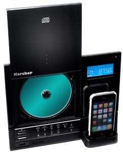 Der Top Loading CD Player unterstützt CD, CD R oder CD RW und spielt