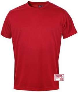 Funktions Sport T Shirt Polyester 11 Farben S bis XXL