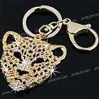 Heart Crystal Rhinestone Keychain Keyring Key Ring 2 FASHION