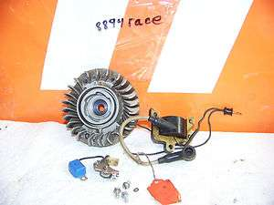 STIHL CHAINSAW PARTS 028 COIL & FLYWHEEL AV POINTS