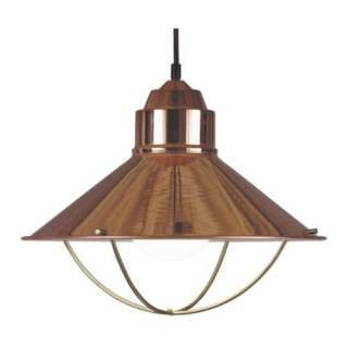 NEW Nautical Pendant Light Fixture Lighting Copper