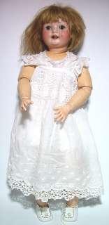 Heubach Köppelsdorf Charakter Puppe 1930   63 cm 300/3