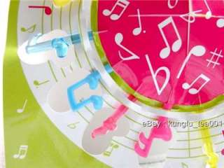 24pc Music Note Fruit Food Picks Bento / Party Decor.