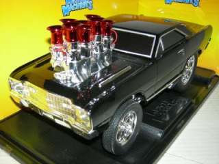 68 DODGE HEMI DART IN BLACK MUSCLE MACHINE MIB.1:18 SC.