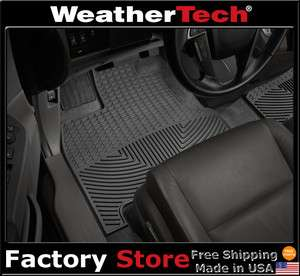 WeatherTech® All Weather Floor Mats   2011   Honda Odyssey   Black