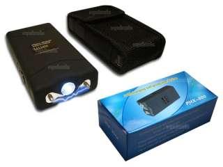 LOT PHX 800 7.8 Million Volt Mini Stun Gun LED Light Self Defense