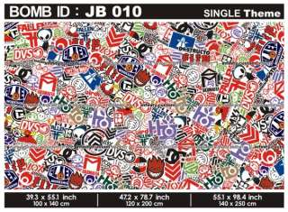 JDM   USDM   BATIK Sticker Bomb Sheet   VERY RARE DESIGN   700 x 1000