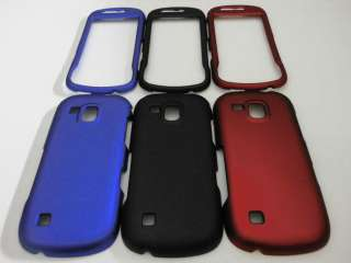 CASE 4 SAMSUNG CONTINUUM I400 Galaxy S VERIZON BLACK BLUE RED