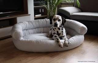 Hundesofa XXL 115 x 100cm Weiss Hundebett Hundekorb Weiß