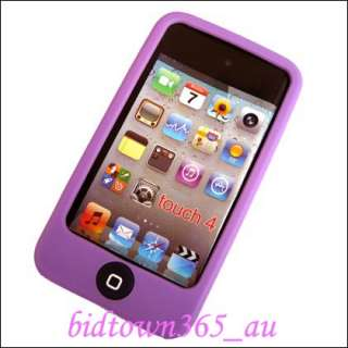 Soft Gel Silicone Case Cover Skin For iPod Touch 4 4G 4th 4 Gen