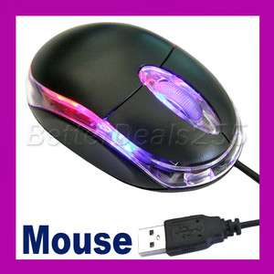 New Wired Optical Mice Mouse USB Scroll Wheel 3D PC Laptop 800 dpi Hot