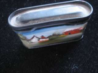 Prince Albert hand painted Advertising Container Tin ~