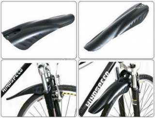 Cycling MTB Bike Bicycle Front Fender + Rear Mudguard Mud Guard Set