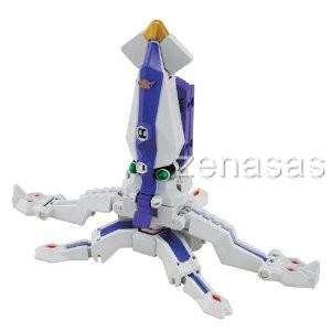 Samurai Sentai Shinkenger 04 Ika Origami Figure Bandai