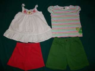 Little Girl 4T 5T Spring Summer Clothes Outfit Sandals Lot