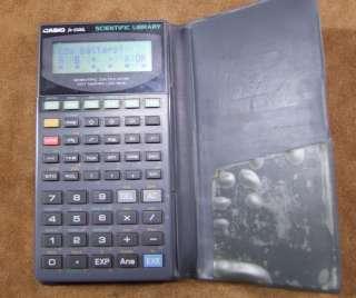 1970/80s Casio FX5500L Scientific Library Calculator