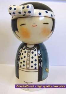 Authentic Japanese Creative Wood Kokeshi Doll   HANDMADE IN JAPAN