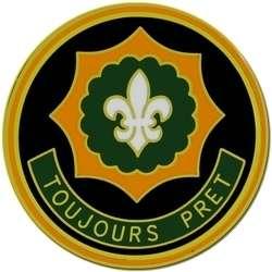 2nd Armored Cavalry RGT CSIB Combat Service ID Badge