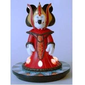 Disney Exclusive Star wars Amidala Minnie mouse statue 20 tall