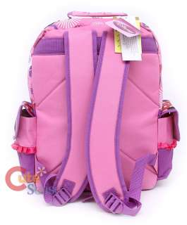 Disney Minnie Mouse Backpack School Bag w/3D Bow Pink & Purple 16