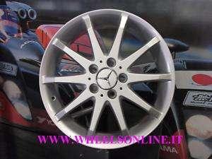 Cerchi in lega Mercedes 17 Classe B Sport con gomme invernali