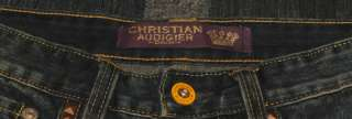 AUTHENTIC NWT Ed Hardy by Christian Audigier Jeans 30x32 White Skull