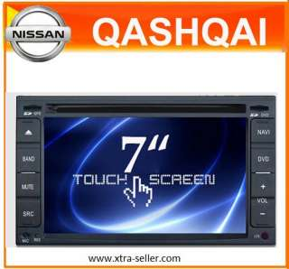 Autoradio HD GPS DVD PIP Nissan Qashqai Navara X Trail