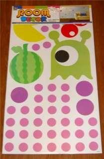 Nursery/Children/Boy/Girl Bedroom PAC MAN Wall Stickers
