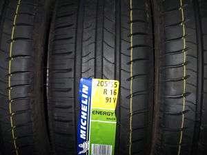01 Pneumatici auto 205/55 16 91V Michelin gomme nuove