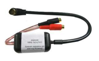 KENWOOD Aux Input Adaptor Auxiliary Lead PC7 104