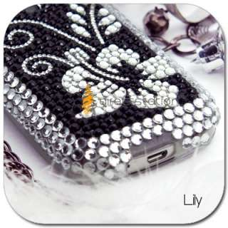 BLING Crystal Hard Case Cover LG P500 Optimus One 1