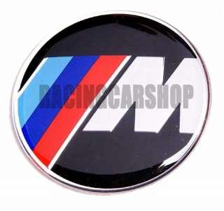 BMW M POWER STEERING WHEEL EMBLEM E90 E92 E46 E60 45mm
