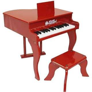 Schoenhut Red Fancy Baby Grand Toy Piano   Schoenhut Piano Co. Inc