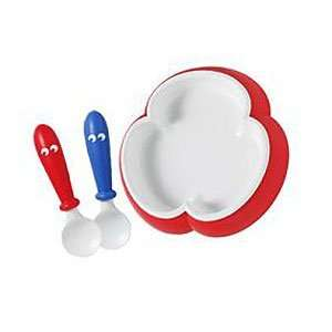 Plate & Spoon   Red By Baby Bjorn: Baby