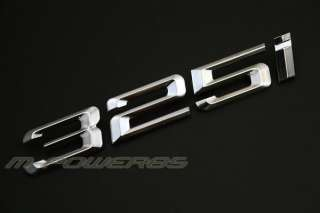 BMW E46 325I 325 I Trunk Rear Emblem Badge Letters Logo