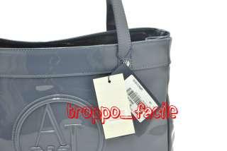 P12 ARMANI JEANS borsa bag a mano R5232 RJ CK2 GRIGIO INTENSO
