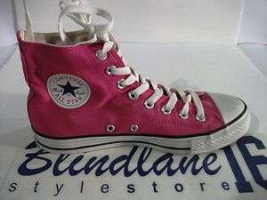 CONVERSE CT ALL STAR HI ALTE CANVAS SEASONAL FUCSIA 108810  40 UK 7