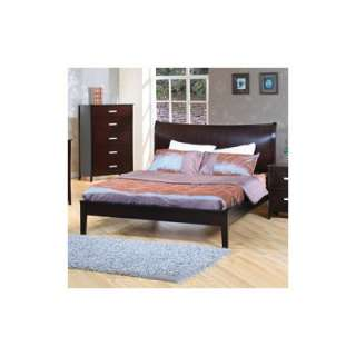Piece Simple Platform Bedroom Set with Nevis Accessories
