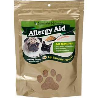 Home Dog Skin & Coat Care NaturVet Naturals Allergy Aid Powder Dog