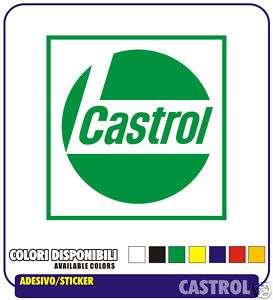 2 Adesivi CASTROL Auto Moto Tuning GP Sponsor Stickers