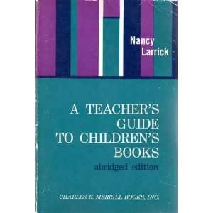 A Teachers Guide to Childrens Books (9780675098564