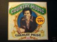 Charley Pride Country Music Time Life LP Sealed