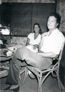 1978 Orig Photo PRINCESS CAROLINE OF MONACO & Philippe Junot Honeymoon