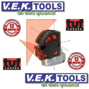 TUF Multi Cross Line & Point Laser Level Valued@$599