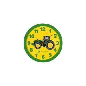 John Deere Childs Wall Clock: Home & Kitchen