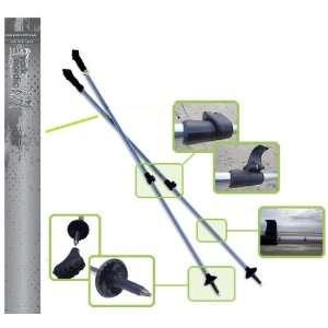 piece w/flip locks and detachable feet   Light Gray: Sports & Outdoors